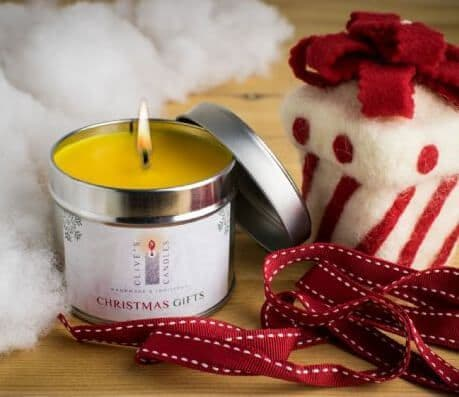 Christmas Gifts Scented Candle, Frankincense & Myrrh
