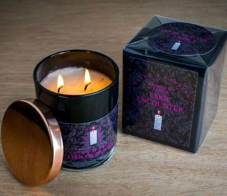 Cool Encounter Massage Oil Candle