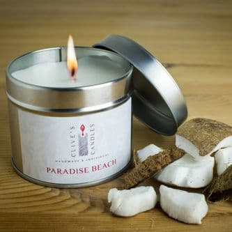 Paradise Beach  Scented Candle, Creamy Coconut