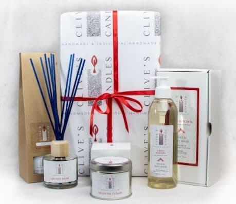 The Ultimate Gift Set, Candle, Diffuser & Body Wash