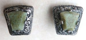 Vintage Celtic Style Clip On Earrings By Miracle.