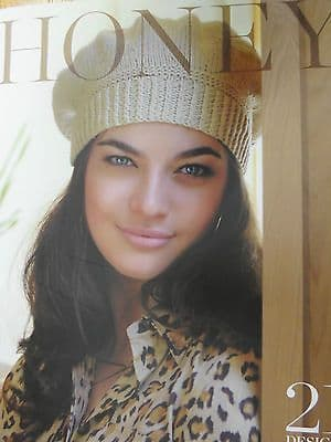 HONEY by KIM HARGREAVES KNITTING PATTERN BOOK