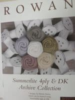 Summerlite 4 ply and dk Archive Collection