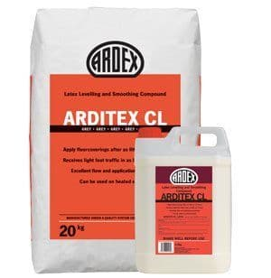 Arditex CL Powder 20kg & Arditex CL Latex 4.5kg