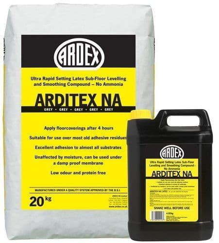 Arditex NA Powder 20kg & Arditex NA Latex 4.85kg