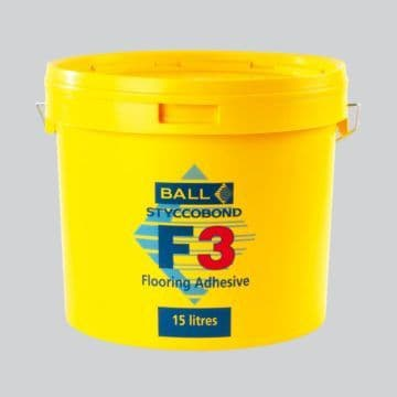 F Ball Styccobond F3 15 Ltr Carpet Adhesive