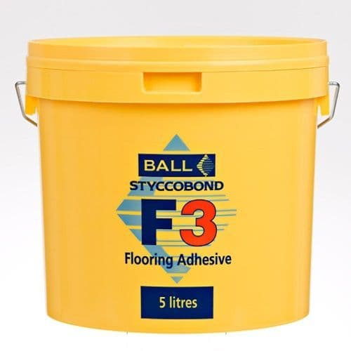 F Ball Styccobond F3 5 Ltr Carpet Adhesive
