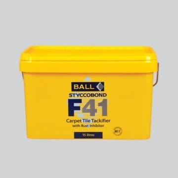 F Ball Styccobond F41 15 Ltr Carpet Tile Tackifier