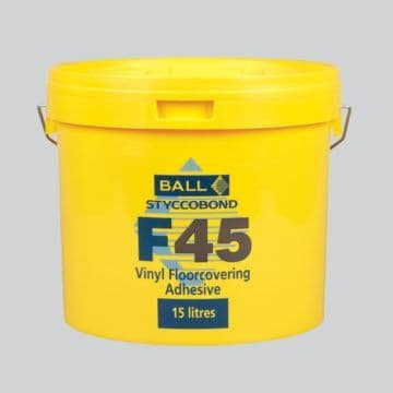 F Ball Styccobond F45 15 Ltr Vinyl Flooring Adhesive