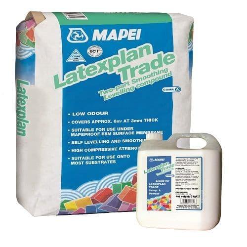 Mapei Latexplan Trade Powder & Liquid Smoothing Compound | £12.62 + Vat
