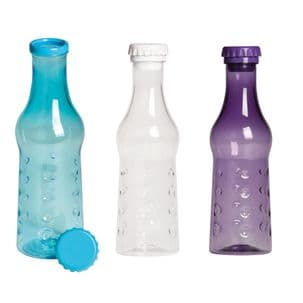 600ml Glass Style Plastic Bottle