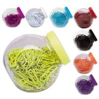 8 Packs of 200 Paper Clips