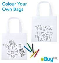 Colour Your Own Bags