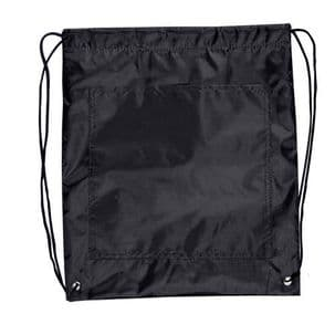 Drawstring Cooler Bag - Black