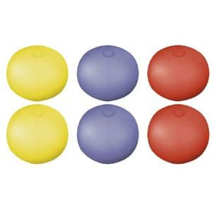 Inflatable Translucent Beach Balls - Pack of 10