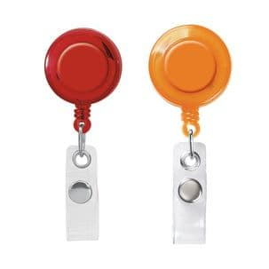 Pack of 10 Retractable Badge Holders