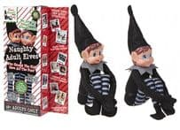 Pack of 2 Girl & Boy Black Adult Elves
