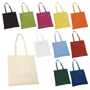 Pack of Ten Cotton Shoppers