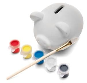 Paint Your Own Ceramic Piggy Bank