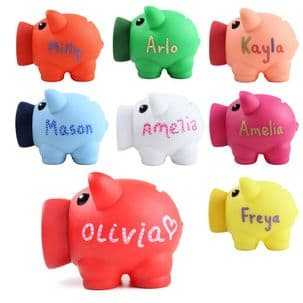 Personalised Big Nose Piggy Bank