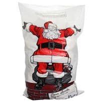 Plastic Santa Sacks