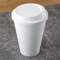 Reusable 420 ml Plastic Travel Coffee Cup