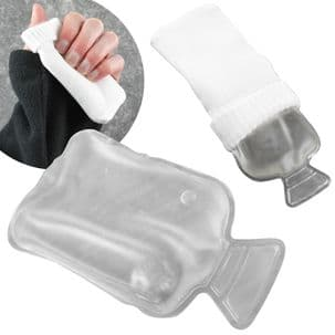 Reusable Hand Warmer in Cover - White