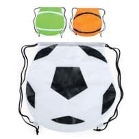 Sports Themed Polyester Drawstring Bags