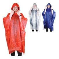Unisex Reusable Waterproof Ponchos