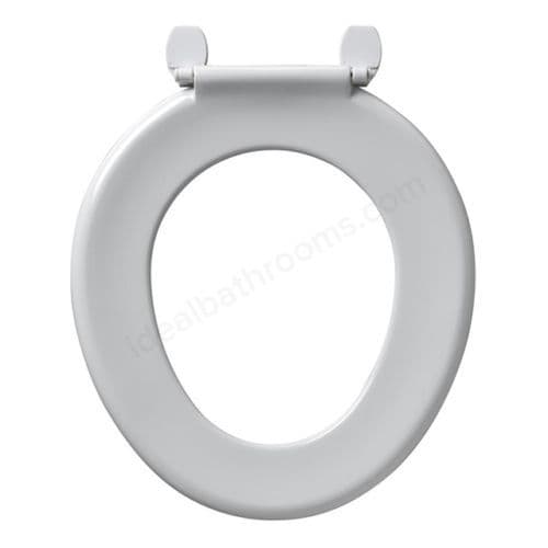 Armitage Shanks BAKASAN Toilet Seat Only Stainless Steel Rod and Plastic Hinges