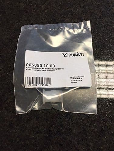 Duravit Wellnuts For Toilet Seat Fixing - 0050501010