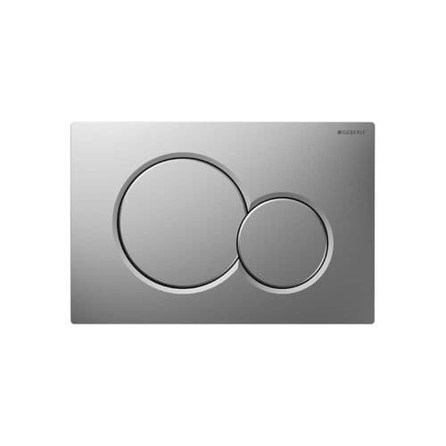 Geberit Sigma01 Dual Flush Plate Matt Chrome - 115.770.46.5