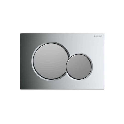Geberit Sigma01 Gloss/Matt Chrome Dual Flush Plate - 115.770.KA.5