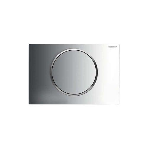 Geberit Sigma10 Gloss/Matt/Gloss Single Flush Plate - 115.758.KH.5