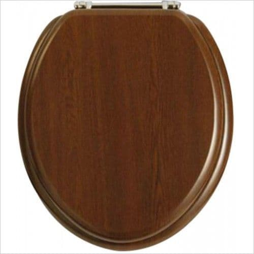 Heritage Soft Close WC Seat (Walnut) - GW101SA