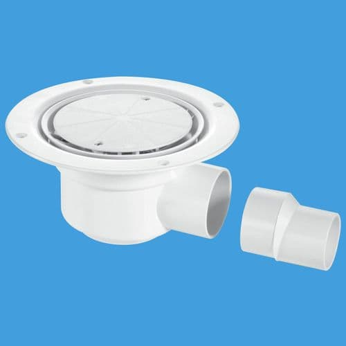 McAlpine (TSG50WH) 50mm Water Seal Trapped Gully