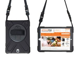 Rugged case for Samsung Tab A 10.1 T510 / T515 hand/shoulder strap, kick stand & screen protector