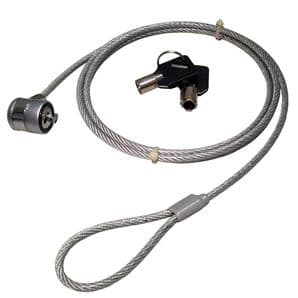 armourdog® 1.5m high quality grade steel security cable with barrel lock for Kensington slot
