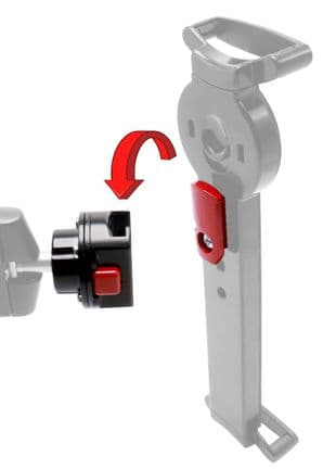 armourdog® security mount quick release adapter