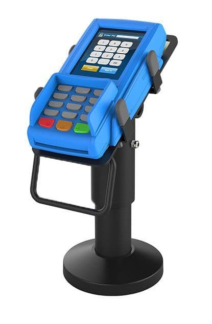 armourdog®  tilt and swivel universal payment terminal holder in black or white