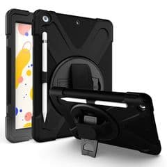 Rugged case for the iPad 10.5 (Air and Pro) with hand & shoulder strap and glass screen protector