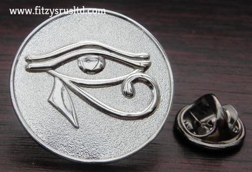 Eye of Horus Ra Lapel Tie Pin Badge Wedjat - Egypt Egyptian symbol of protection