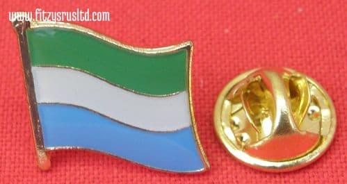 Sierra Leone Country Flag Lapel Hat Cap Tie Pin Badge - Republic New
