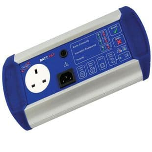 BattPAT Battery Powered PAT Tester