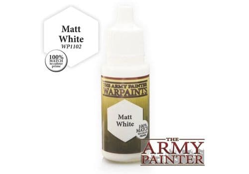 army painter matt white
