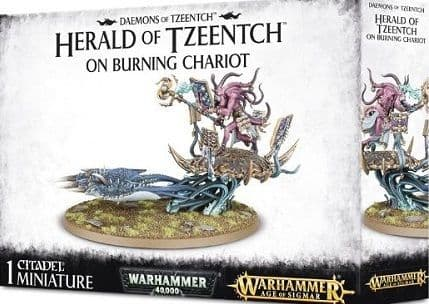 Herald on Burning Chariot