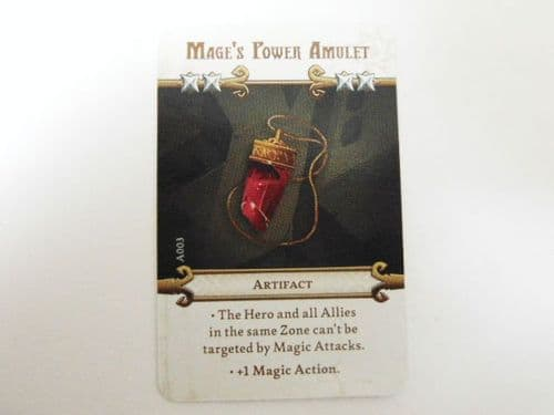 md - artefact card (mages power amulet)