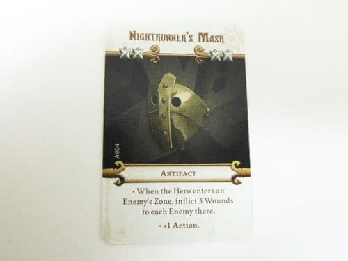 MD - artefact card (nightrunners mask)