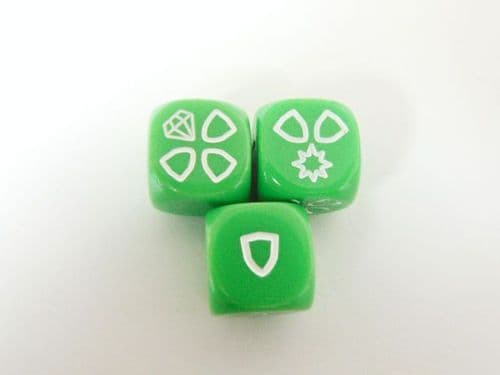 md - defence dice (green)