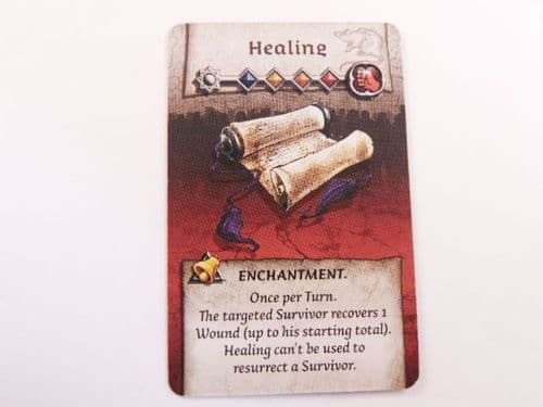 survivor enchantment card (healing)